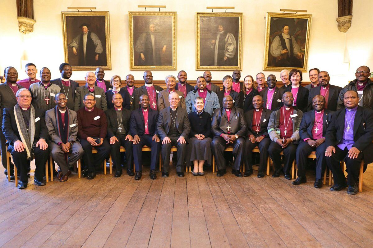 Bishops from the Communion with Archbishop Justin Welby